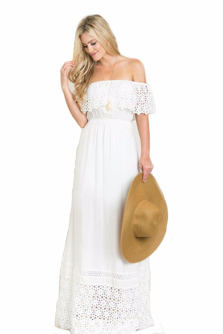 Vestidos blancos largos mercadolibre