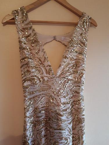 vestido largo bordado!!