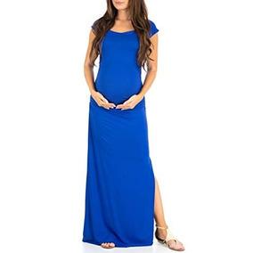 2528aecc7 Vestidos Maternidad Asos Nuevos Largos Mujer - Vestidos Azul en Baja ...