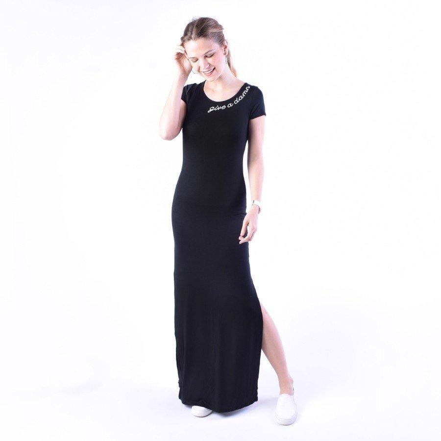 6a1497913 Vestido 00 Y Mercado Libre Liso Color Negro Casual En Largo Gris550 H9WYED2I