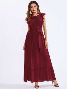 comprar online 6153d 9c790 Vestidos Con Cinturon Delgado - Vestidos de Mujer De noche ...