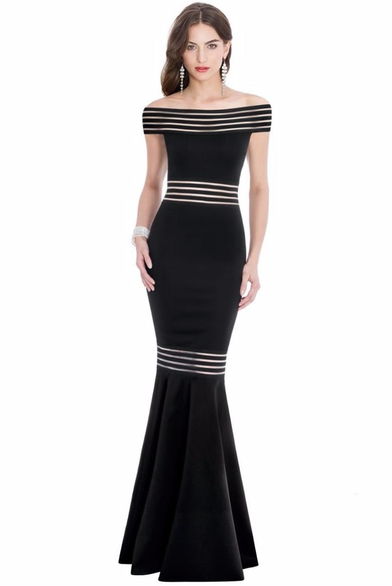 Modelos de vestidos largos corte sirena