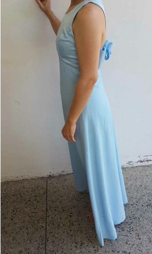 vestido largo de boda graduación o 15 años talla s