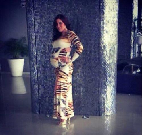 vestido largo de damas