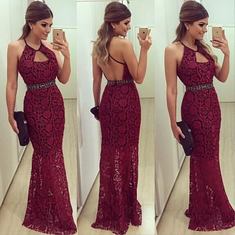 a6446c79a6ed4 vestido largo de encaje formal elegante recepcion fiesta. Cargando zoom.