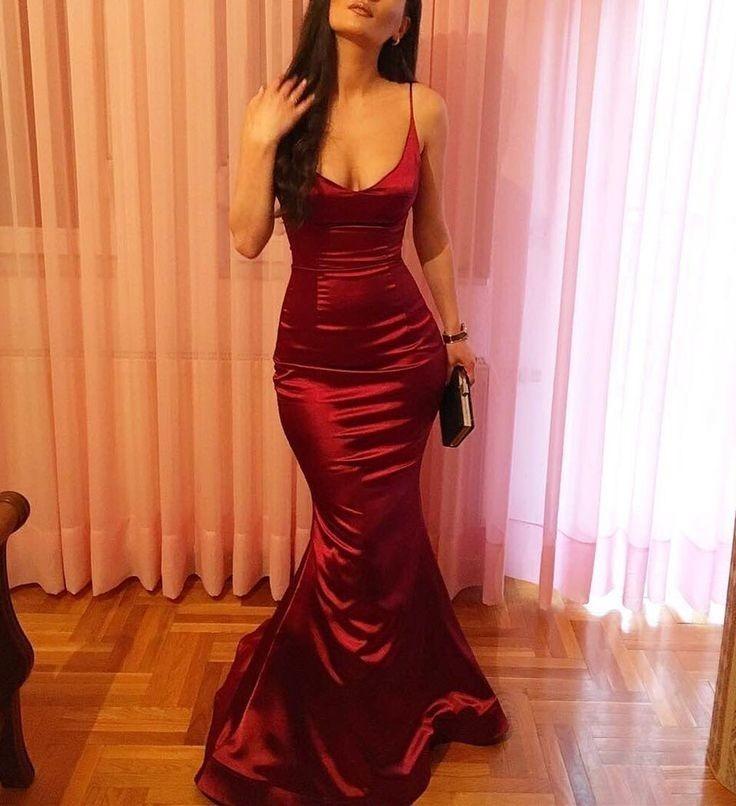 Imagenes de vestidos largos al cuerpo