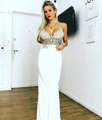 vestido largo de fiesta (angelina)