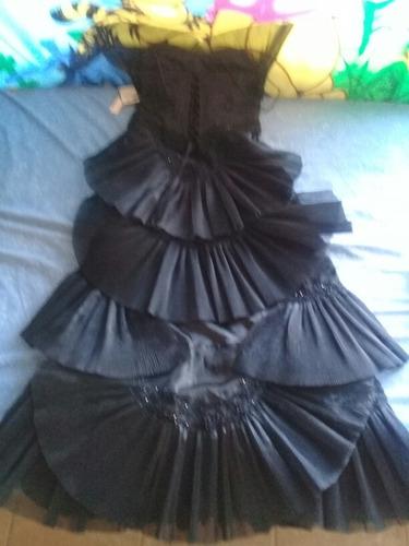 vestido largo de fiesta elegante
