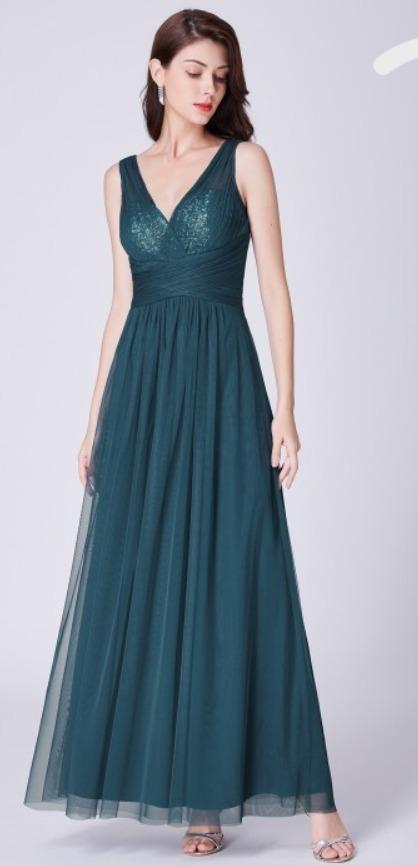 e040fac60 Vestido fiesta azul petroleo - Vestidos cortos populares