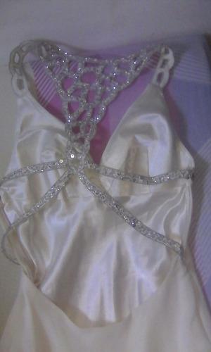 vestido largo de gala