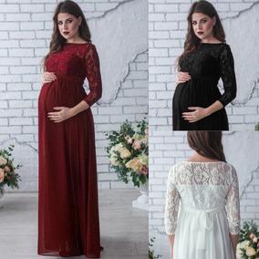 ed57c6040 Vestido De Encaje Para Embarazada en Mercado Libre México