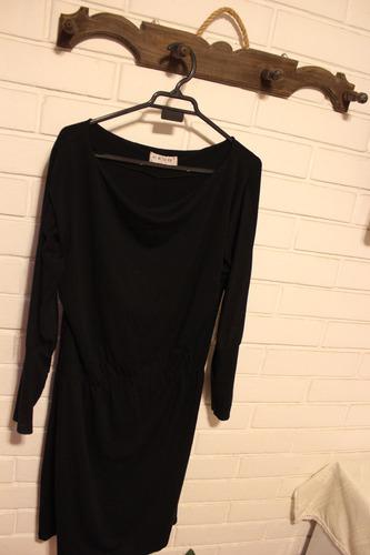 vestido largo de mujer negro kedo talla m