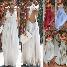Vestidos de coctel largos blancos
