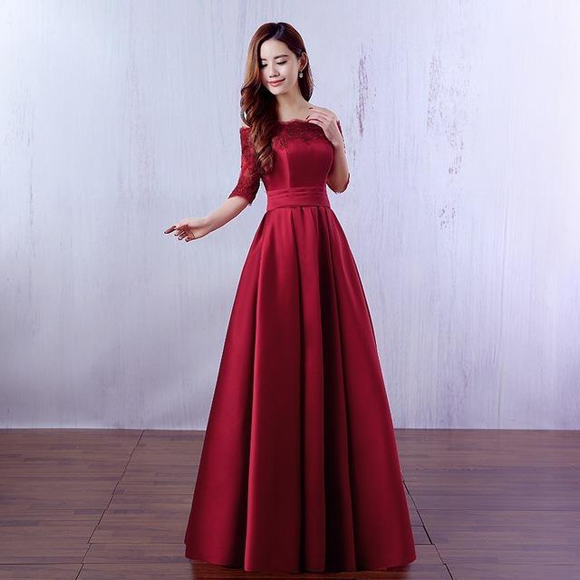 Vestido Largo Elegante De Fiesta Formal, Boda, Xv. - $ 2,400.00 en ...