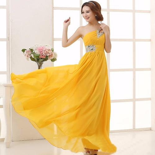 vestido largo elegante para fiesta de dia o de noche.