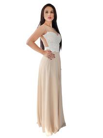 75f9f5e335 Vestido Largo Elegante Para Fiestas De Día O Noche 6000
