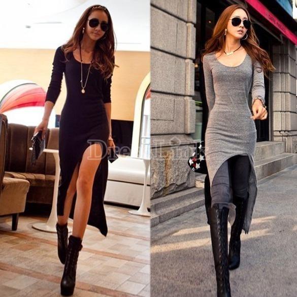 Vestidos largos informales mujer