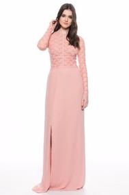 3415211a6 Vestido Rosa Palido Vestidos De Fiesta Mujer - Vestidos en Mercado ...