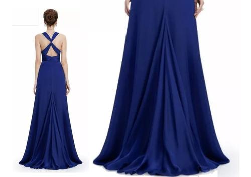 vestido largo fiesta gala matrimonio elbauldecorina 0101137