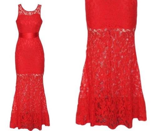 vestido largo fiesta gala noche elbauldecorina 010167
