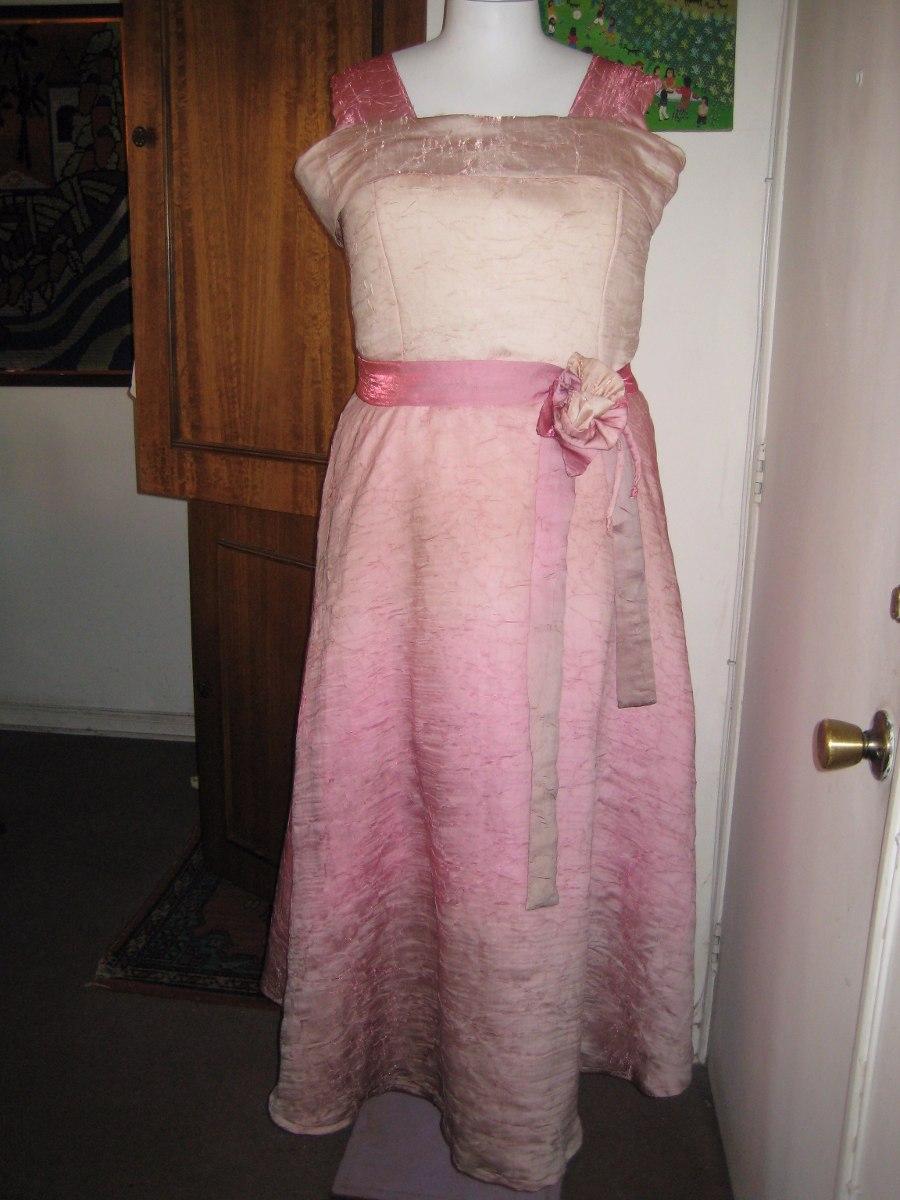 Vestido Largo, Fiesta,rosa En Degrade, Talla Xl / Xxl - $ 32.900 en ...