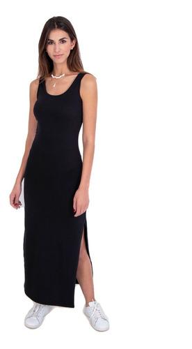 vestido largo flashy mujer