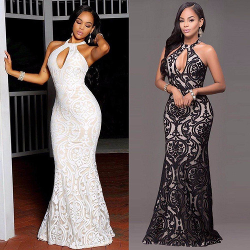 vestido largo formal, para fiesta,boda, noche |por encargue|