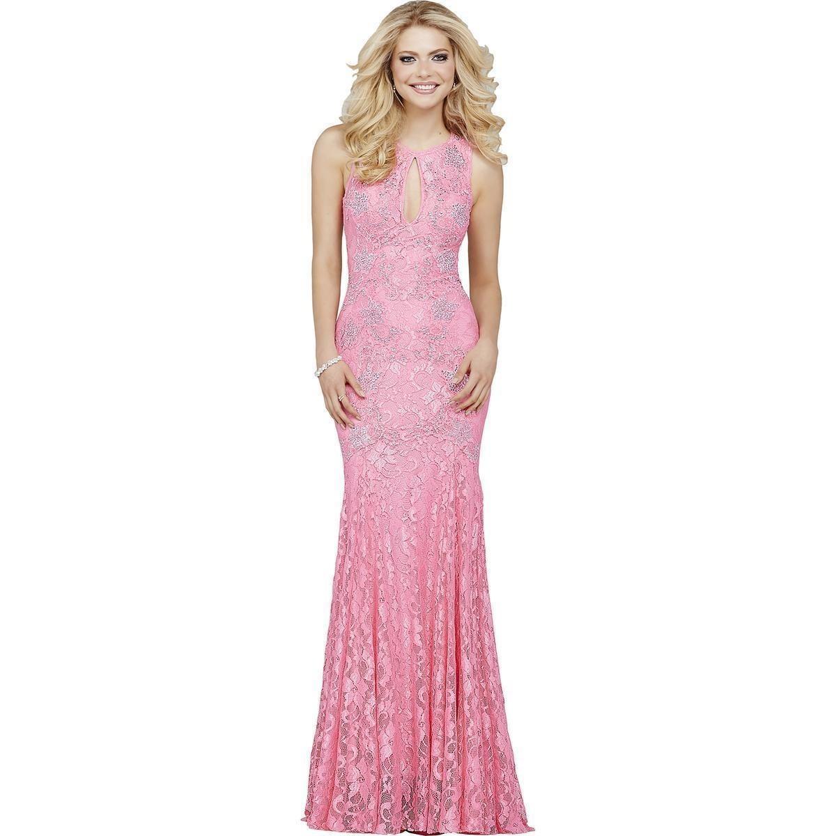 500ebe2bc vestido largo gala americano nuevo s m rosado y cristales. Cargando zoom.