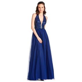 8ee9f0609 Vestido Azul Rey Largo Elegante - Vestidos de Mujer Largo 2 en ...