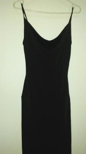 vestido largo licra  sexy *cuello bobo* talla s m