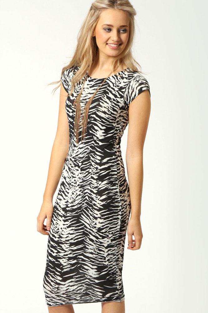 9610cce21 vestido largo lycra diseño zebra animal print darcos 6198. Cargando zoom.