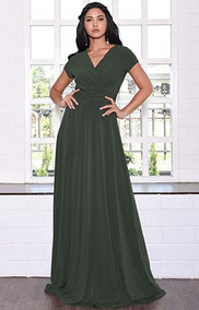 Vestidos verdes fosforescentes