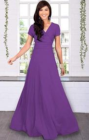 0c95073890 Vestido Xv Reynosa Vestidos De Largos Mujer - Vestidos Violeta en Baja  California en Mercado Libre México