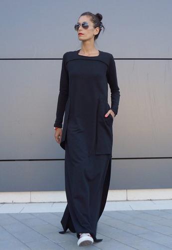 vestido largo mujer