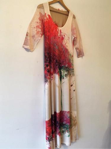 vestido largo mujer moda envios