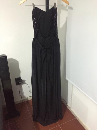 vestido largo muy elegante