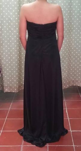 vestido largo negro m