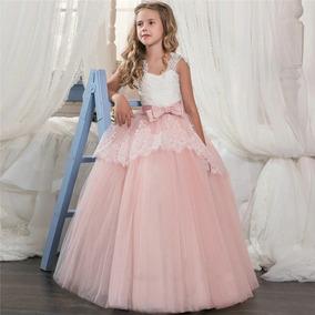 674e1f01e Vestido Encaje Color Ficsa - Ropa