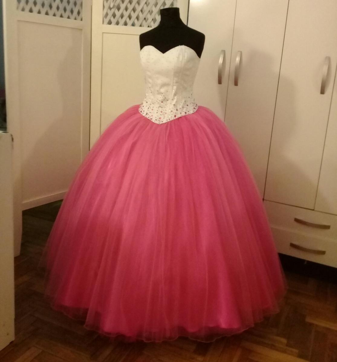 Vestido Largo Para 15 Años, Corset. Leer Descripción:) - $ 5.500,00 ...