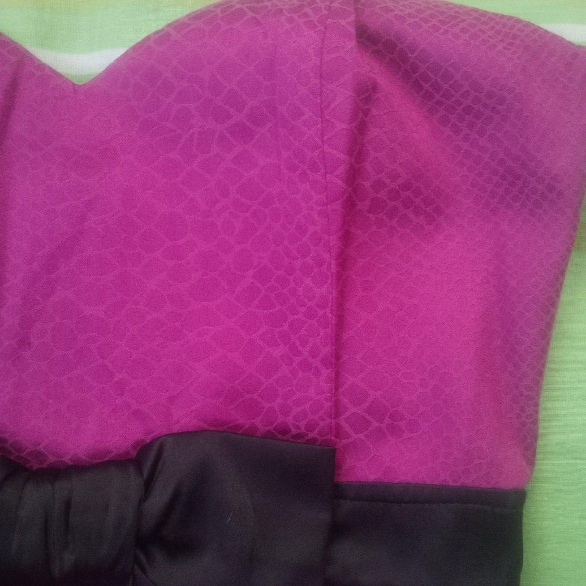 Vestido Largo Sirena Color Purpura Fiesta / Noche / Gala - Bs. 1.500 ...