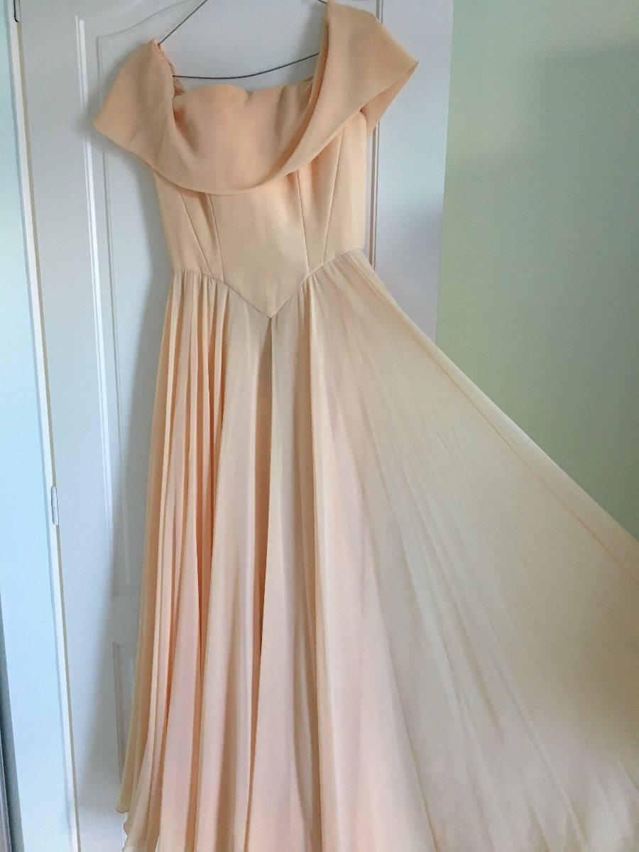 Stapless Largo Color Serrano1 De Elsa Salmon 00 900 Vestido SpMUzV