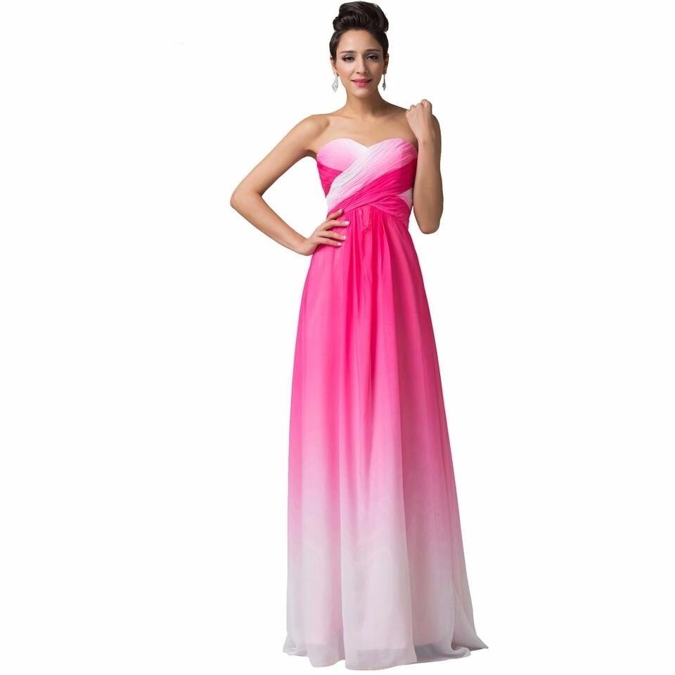 Vestido Largo, Strapless, 15, Madrinas, Graduación, Boda - $ 2.499 ...