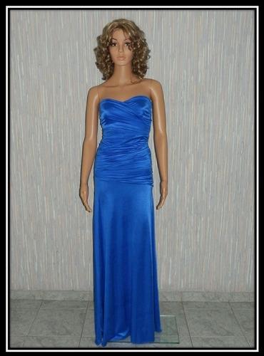 vestido largo strapless fiesta, largo-corto, colores