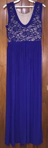 vestido largo talla 12