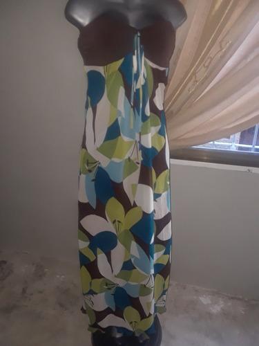 vestido largo talla m o l