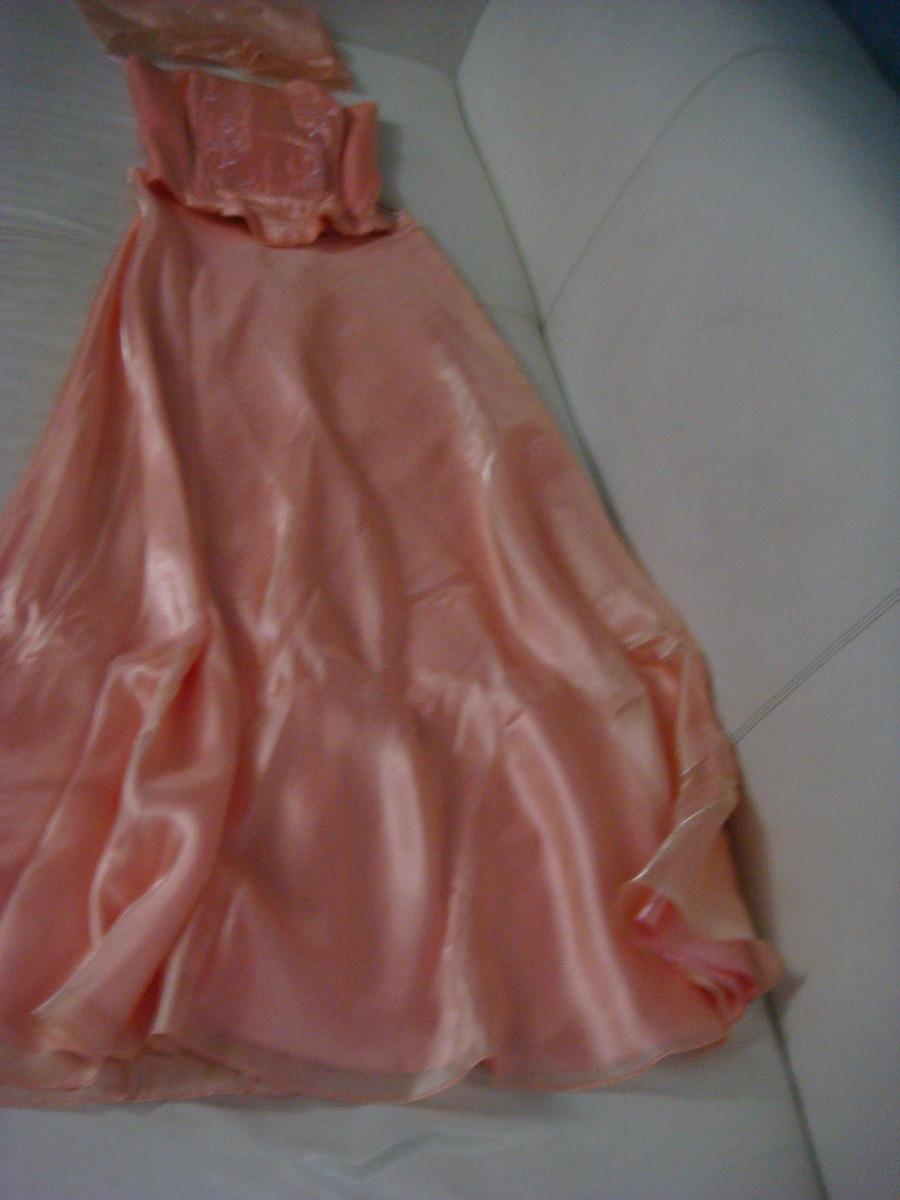 Vestido color salmon para bodas