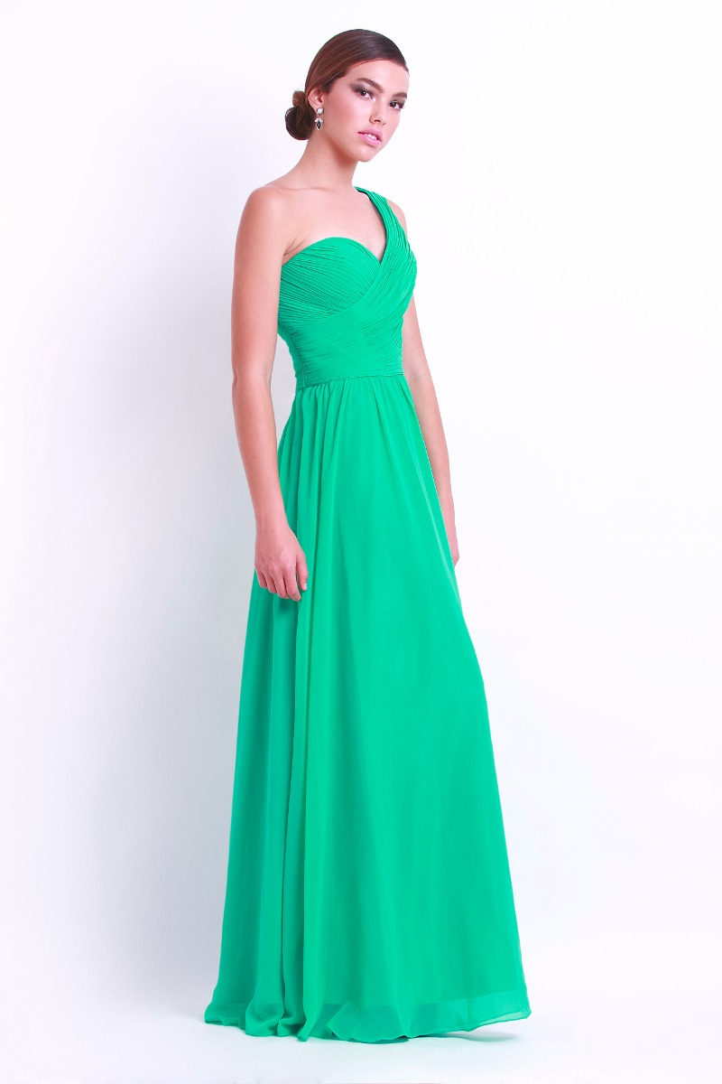 Vestidos de color verde turquesa