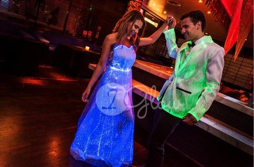 vestido led fiesta noche novia 2do cambio - alquiler