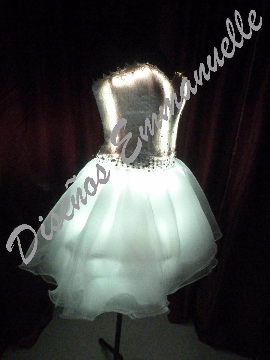 0cdd64915a vestido led luces 15 años fiesta novias. Cargando zoom.