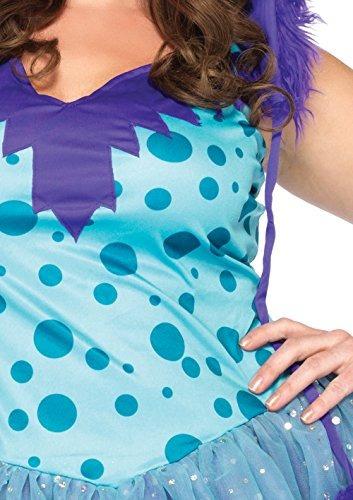 vestido leg avenue plus size plus size con falda tutu capuch